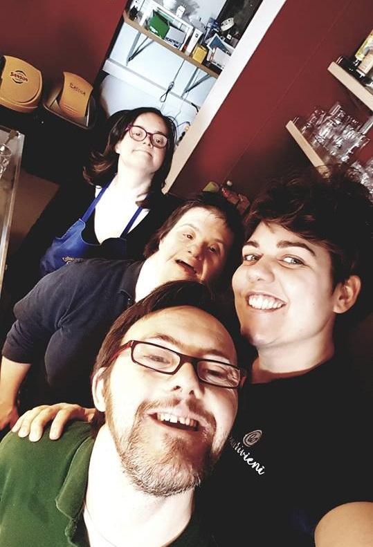 La squadra della Cooperativa Sociale Raggio di Torino